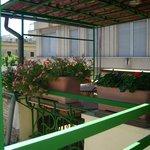 terrazzino al terzo piano fruibile dai clienti