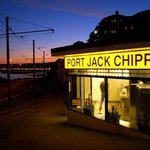 Port jack chippy at night