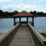 Gazebo over looking the lake