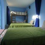 habitacion 6 camas