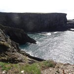 Nearby Mizen Head cliffs - we remember it as being maybe a 15-minute drive from the guesthouse.