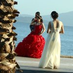 Just happened to be passing a Turkish wedding - lovely photo