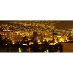 Vista de Quito desde la habitacion