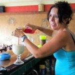 Awesome bartender Brenda