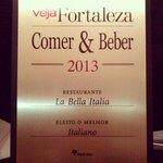 Eleito melhor Restaurante Italiano