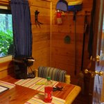 Living/Dining Room on Deluxe Cabin DK3