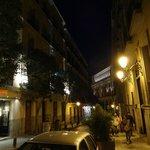 Campomanes street, looking toward the Opera House