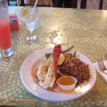 daily special lobster and grouper