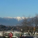 Beautiful mountain view during Winter ski season!