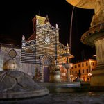 St. Stephen Cathedral. 40m from Hotel Giardino.- 1300 century Center Prato