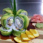 sushi gourment    orange tori