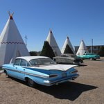 Wigwams and classic cars!!! Unbeatable!!