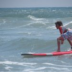 Oh yeah - He's surfin'!