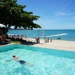 pool and seawiev. .