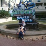 The water park entrance