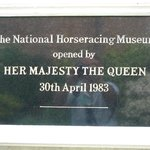 Her Majesty the Queen opened the museum...