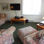 Living Room of the Queen Suite