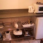 Kitchenette and appliances