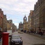 The street Royal Mile