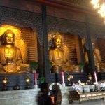 Main Shrine - The Three Buddha of our time