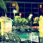 Dive-in Movie in Pool area!