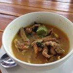 Spicy pork rib curry
