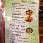 more menu pics