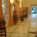 Calming reception area