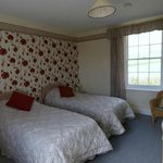 King size double or twin ensuite room