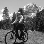 Recreación ciclista en el Pirineo Siglo XIX