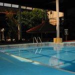 Enjoy the indoor pool!