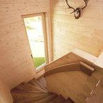 CASALPIN Chalets - Stiegenaufgang