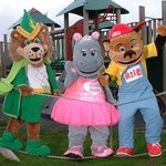 Meet Leo, Milo and Hetty, our cuddly characters!