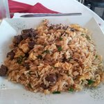 Chaufa de Carne (Fried Rice with Beef)