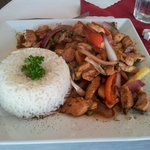 Pollo Saltado (Sauteed chicken)