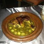 Tajine poulet citron olive
