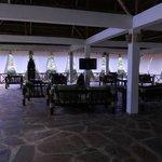 il salone  del ristorante