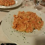 One of many excellent pasta dishes!