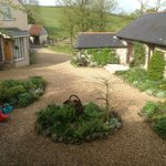 North Hayne Farm Courtyard from Samuel Whiskers