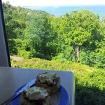 Cream Tea with a view