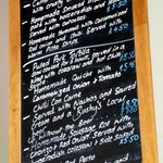 The Velvet Lobster's lunch specials menu