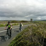 Biking to the Cliffs of Moher