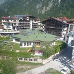 View of hotel from Penken cable-car.