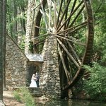 Largest wooden over-shot waterwheel in the world!
