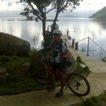 Me encanta montar bici en estas areas rurales...