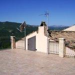 Blue Sky - Lake Bomba from terrace