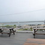 Deck & View from New Shoreham House Inn