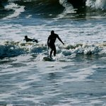 Surfing in Lahinch