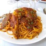spghetti au poulet bien relevé