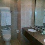 Bathroom in the standard room